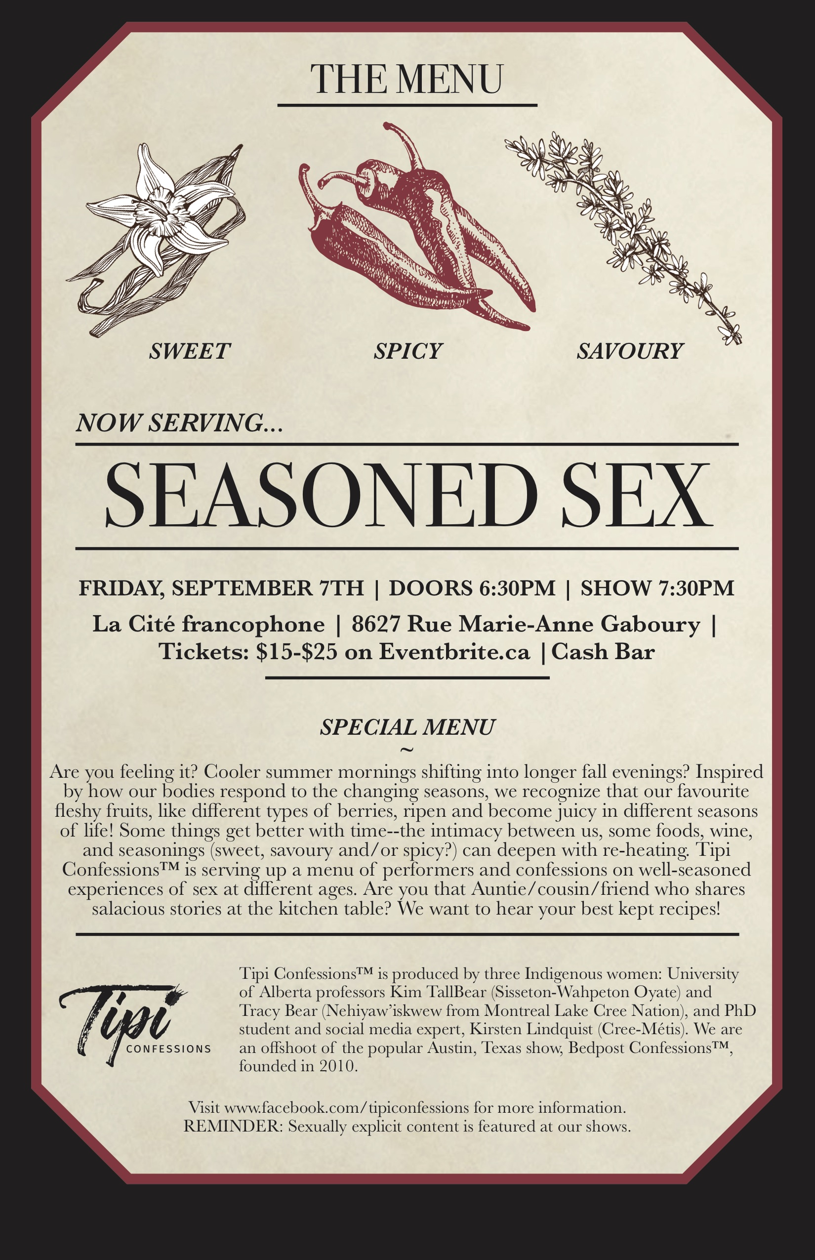 Seasoned Sex